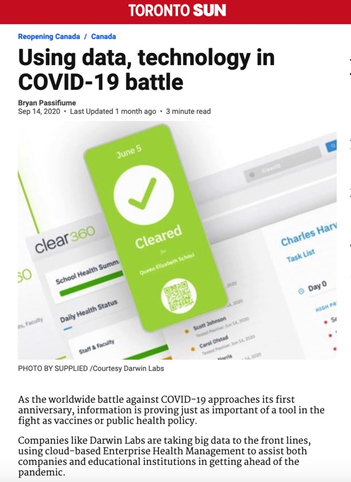 Using data, technology in COVID-19 battle